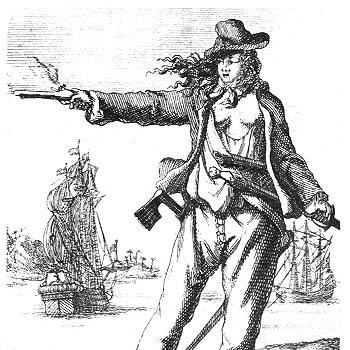 Pirata Famosa Anne Bony